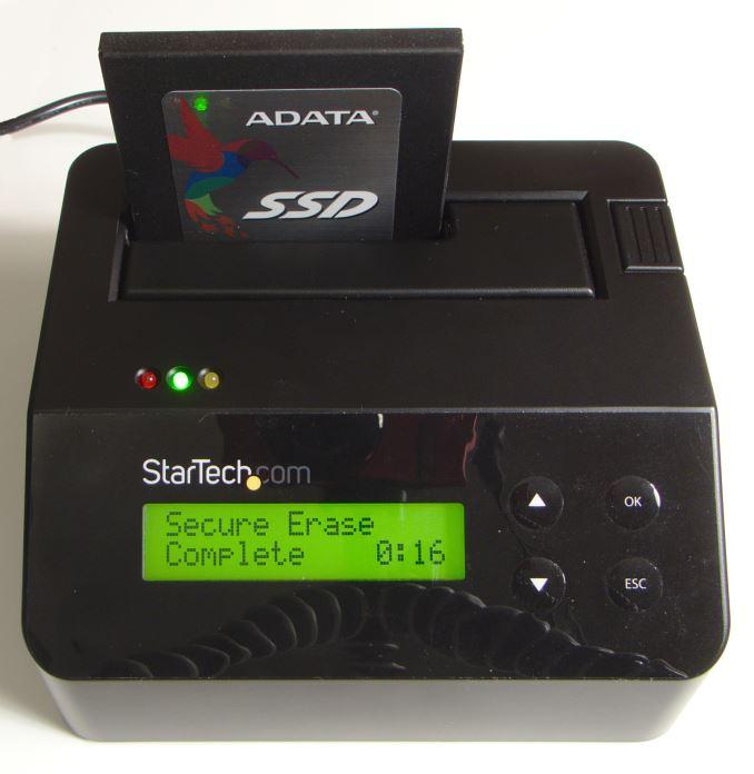Test de StarTech Standalone Hard Drive Eraser et USB 3.0 Dock Capsule