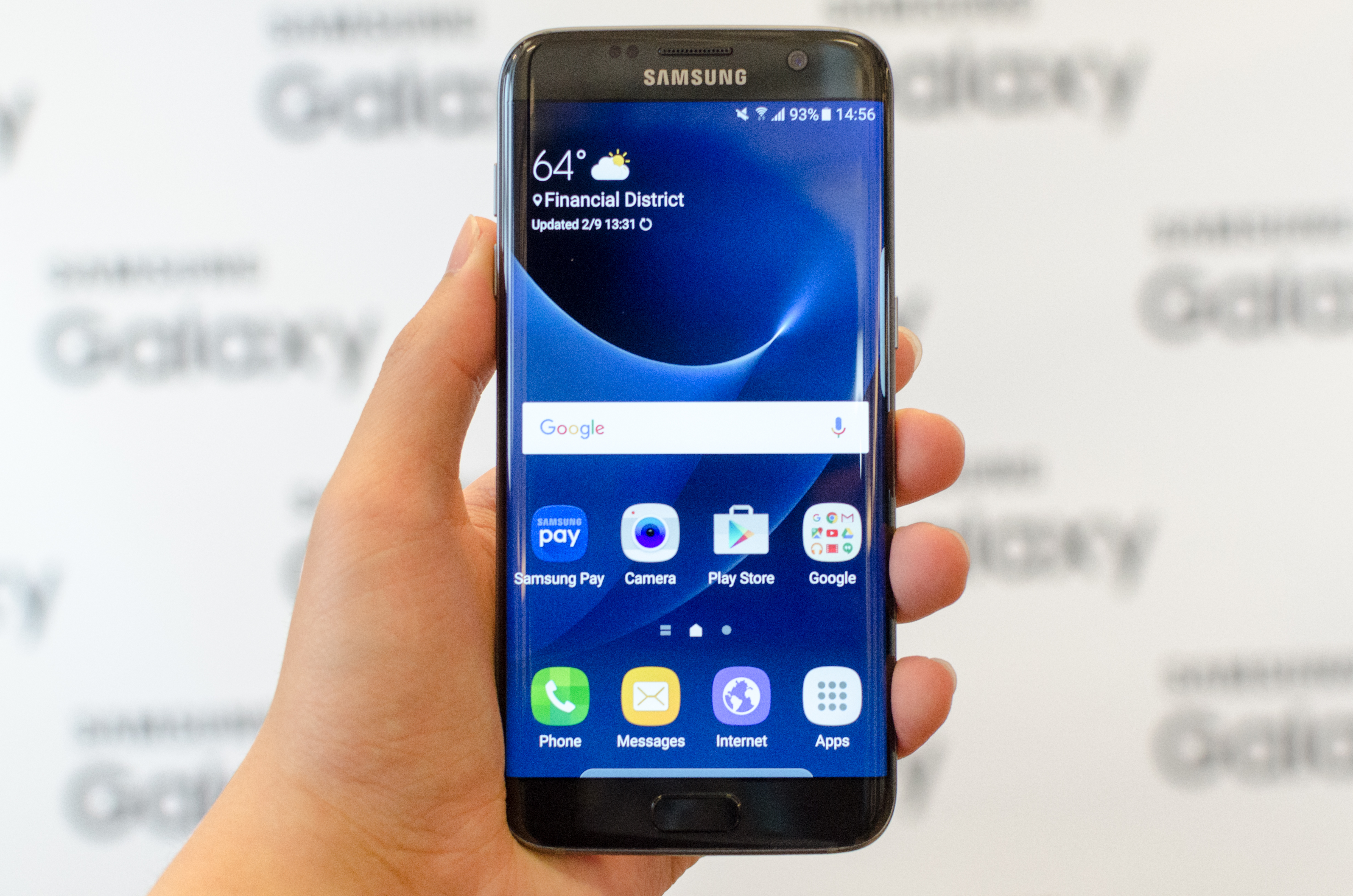 Enormt Hands On With the Samsung Galaxy S7 and S7 edge IY-33