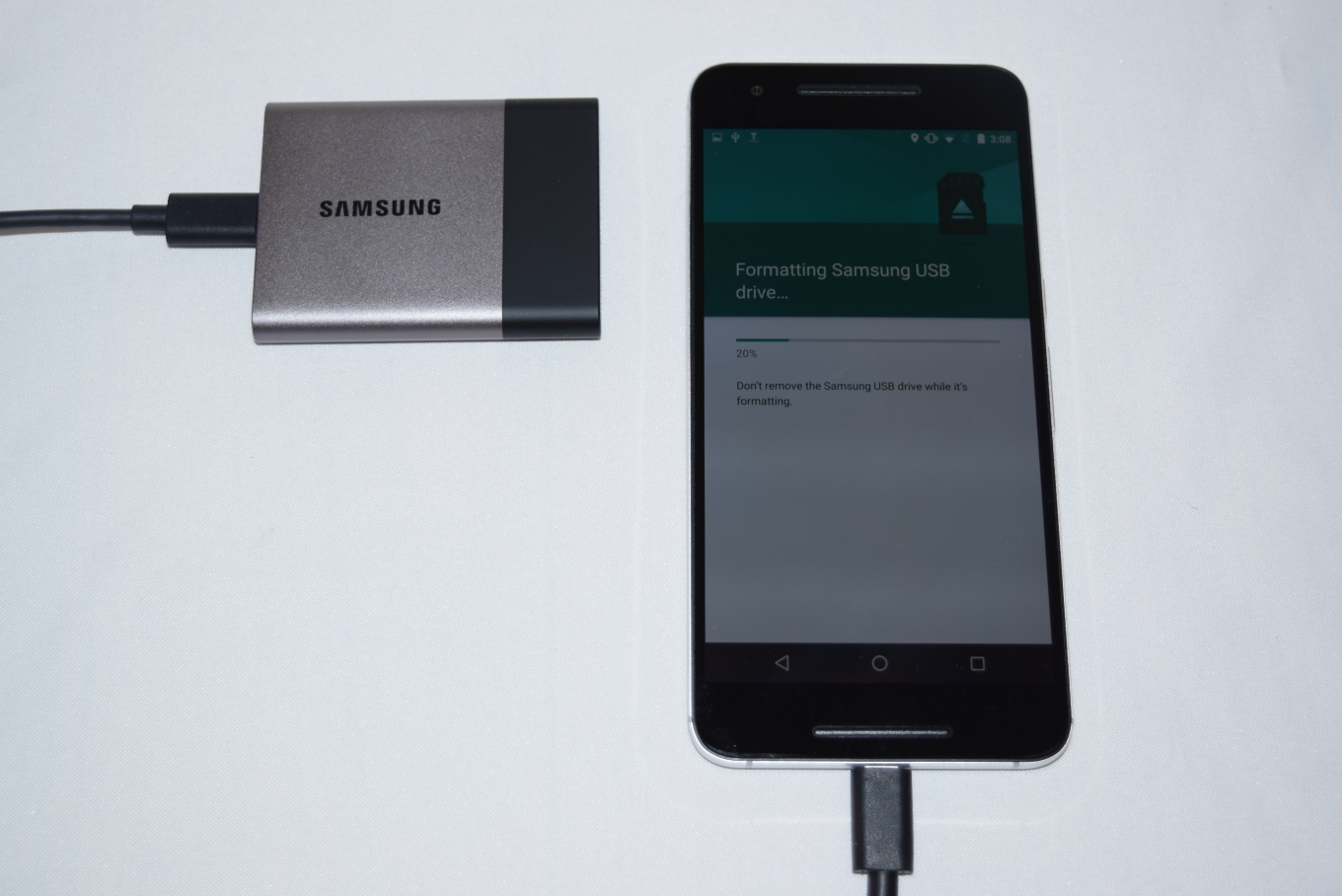 Samsung Portable SSD T3 Review