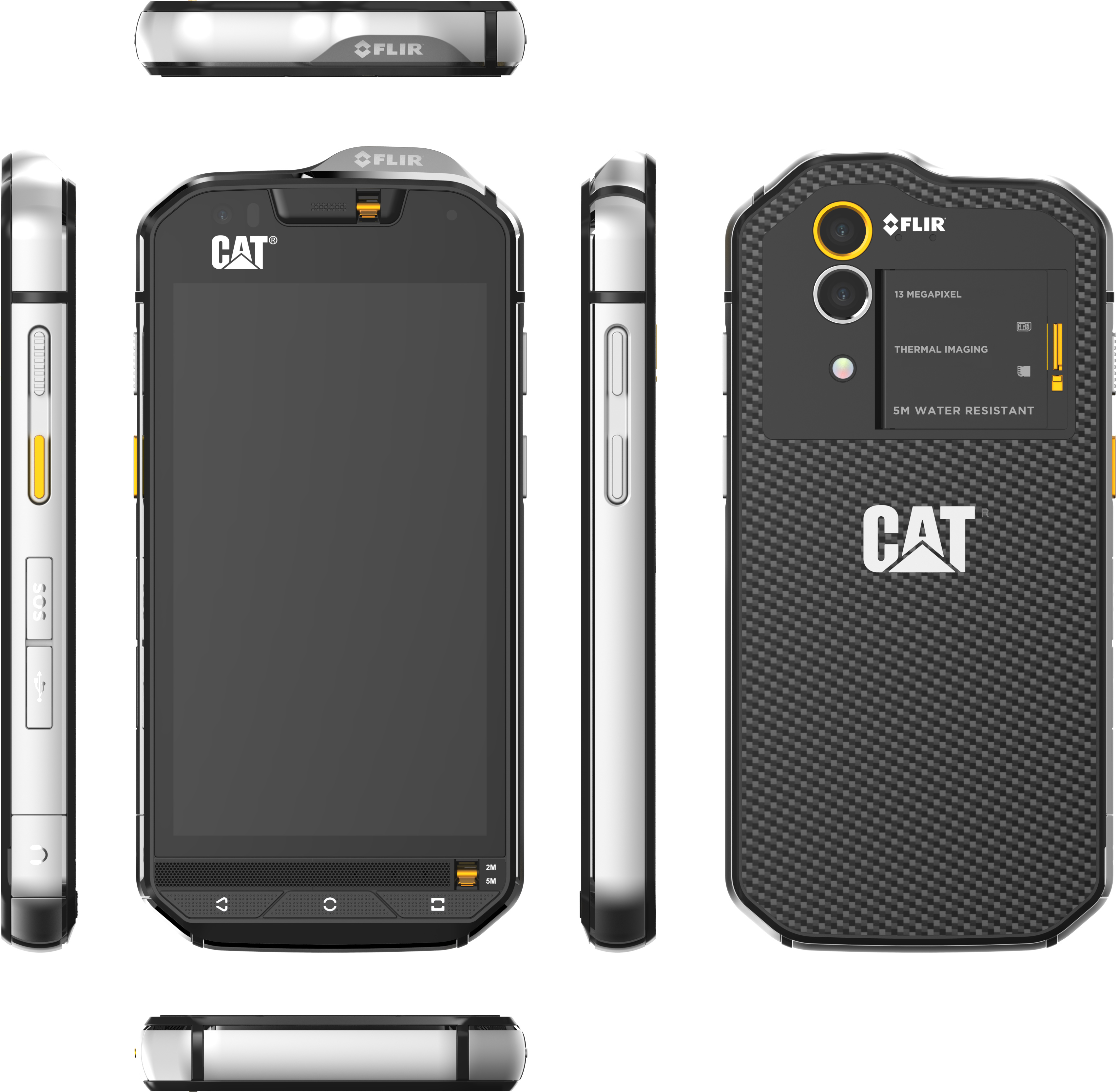 CAT Announces S60 Rugged Smartphone with integrated FLIR ...