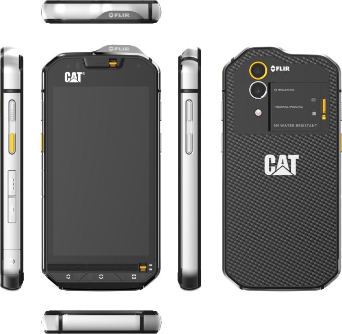 CAT Announces S60 Rugged Smartphone with integrated FLIR Thermal ...