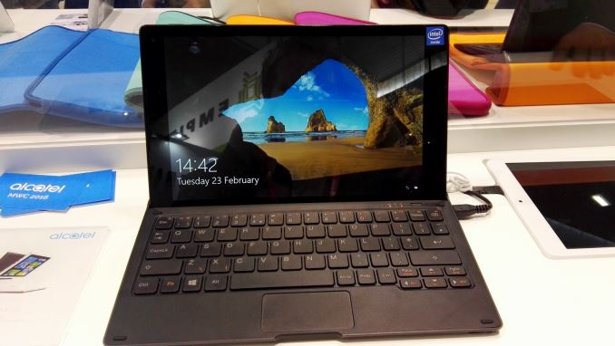 Alcatel Plus 10: A Win10 2-in-1 tablet