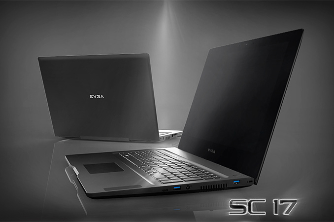 Evga Rolls Out Sc17 High End Gaming Laptop Designed For