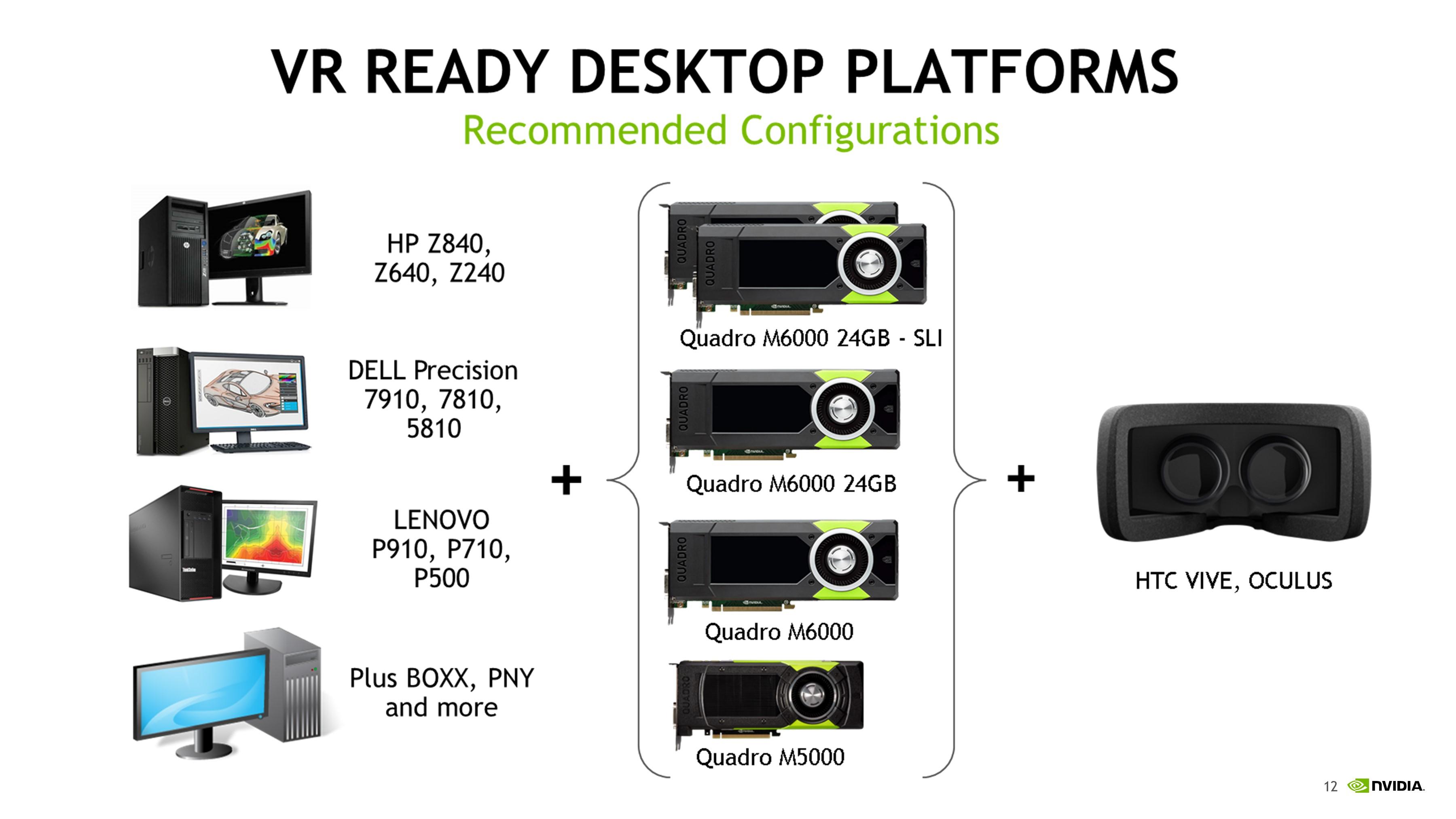 NVIDIA Announces Quadro M5500 For Notebooks, Details