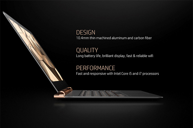 HP Unveils Spectre: The World's Thinnest Laptop