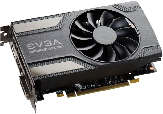 EVGA Releases GeForce GTX 950 Low Power Graphics Cards with