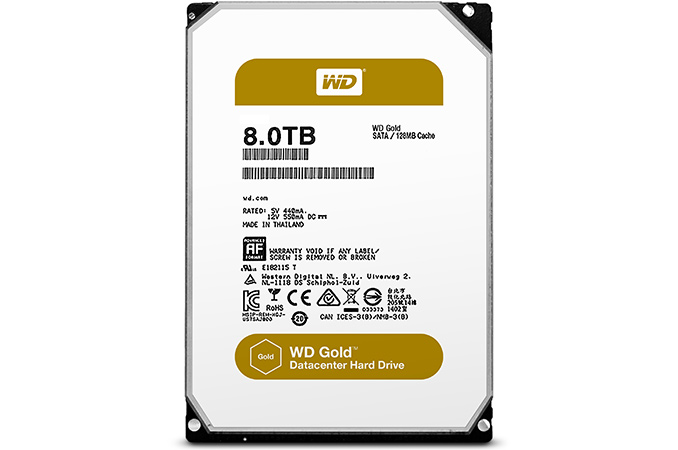 Western Digital Introduces WD Gold HDDs for Datacenters