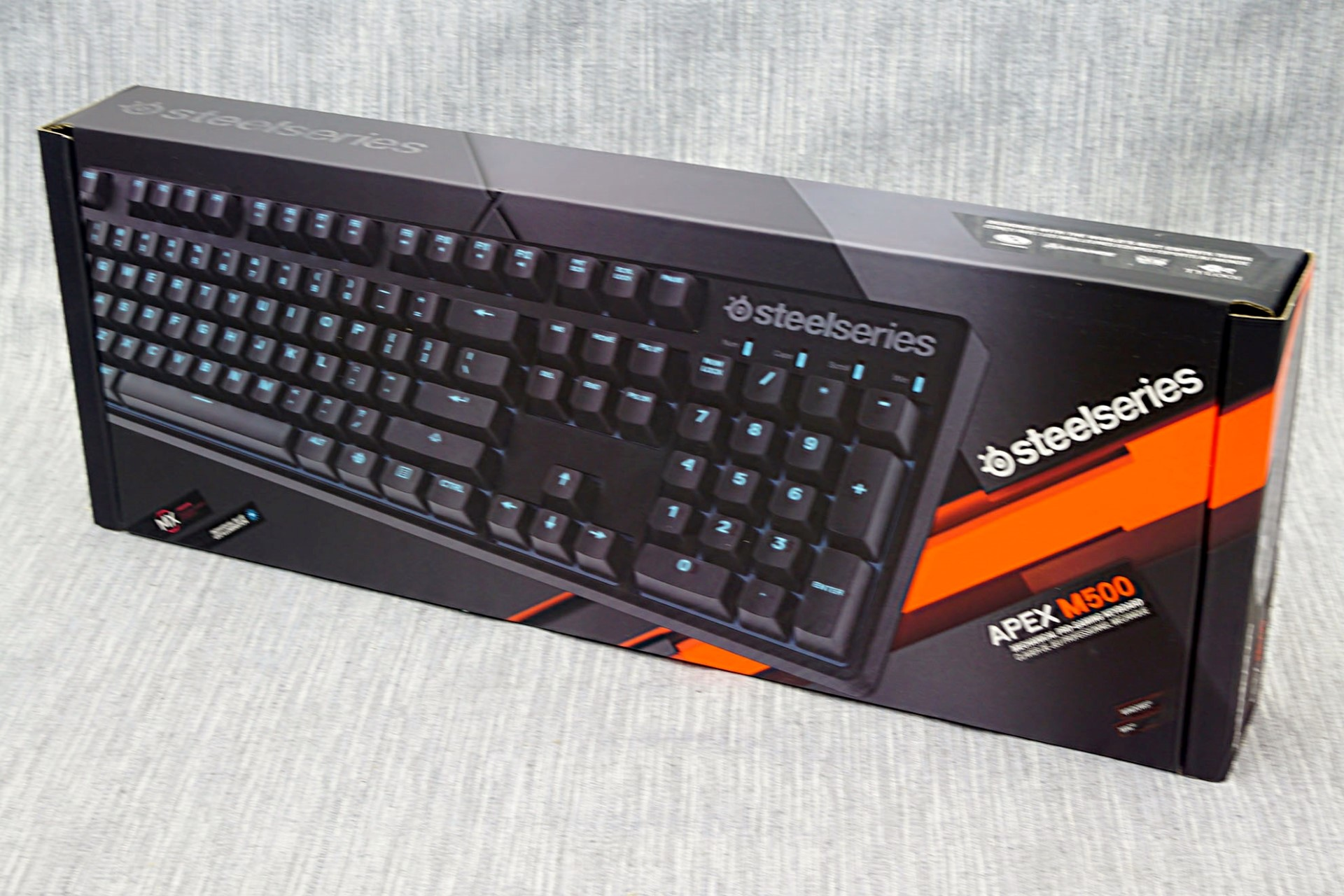 3b6df373cf0 Capsule Review: SteelSeries Apex M500 Gaming Mechanical Keyboard