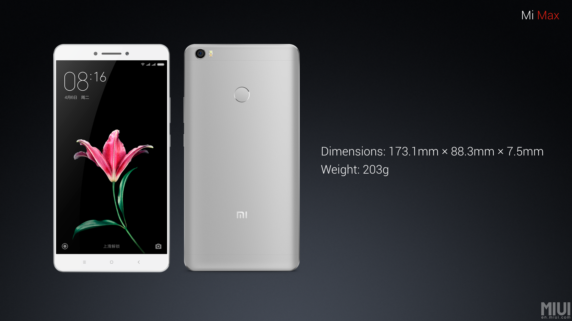 Xiaomi Launches The Mi Max 230 310 6 4 Inch 4850 Mah 7 5mm
