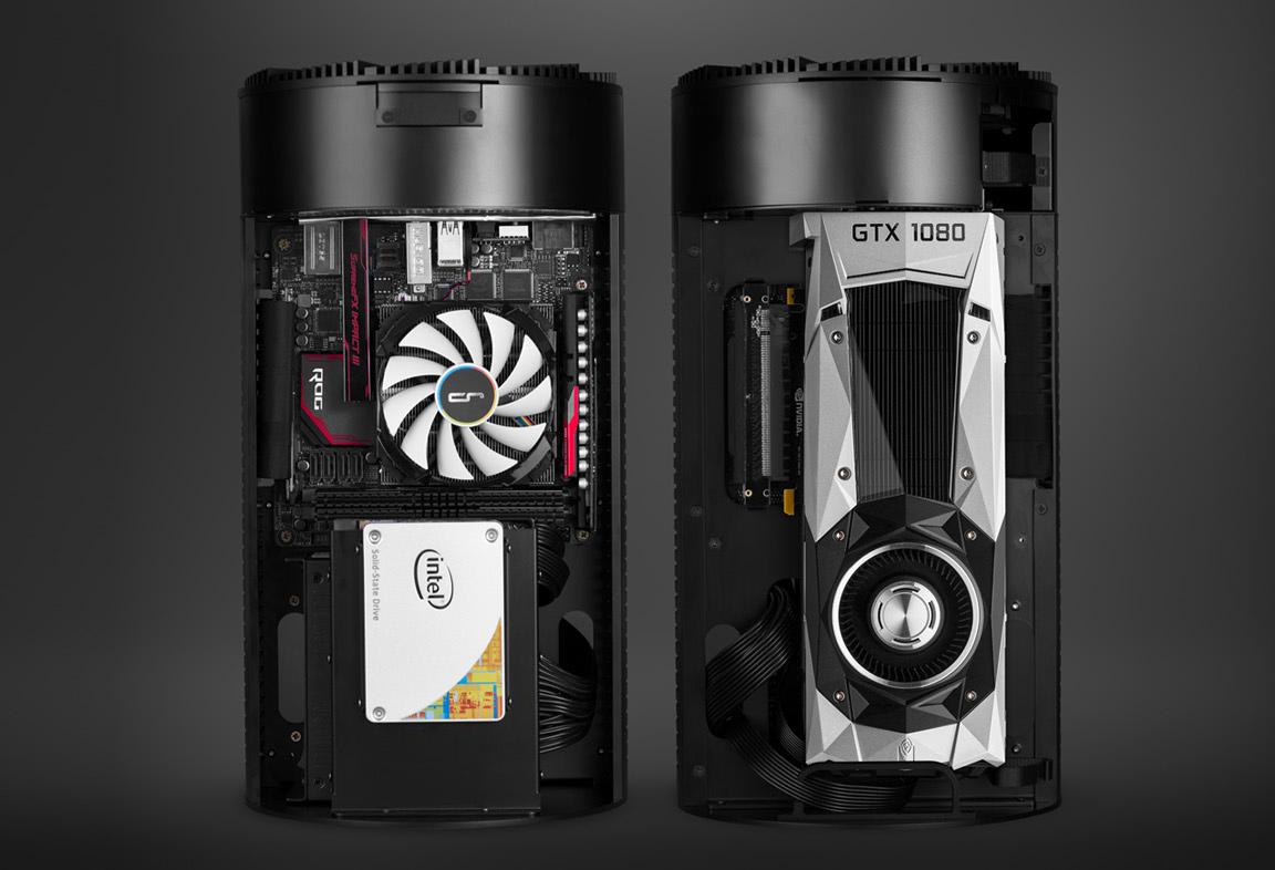 Cryorig Unveils Mac Pro Like Pc Case For Gaming Pcs Ultra