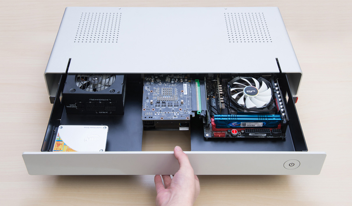 Cryorig Unveils Mac Pro-Like PC Case for Gaming PCs, Ultra-Slim Desktop Chassis