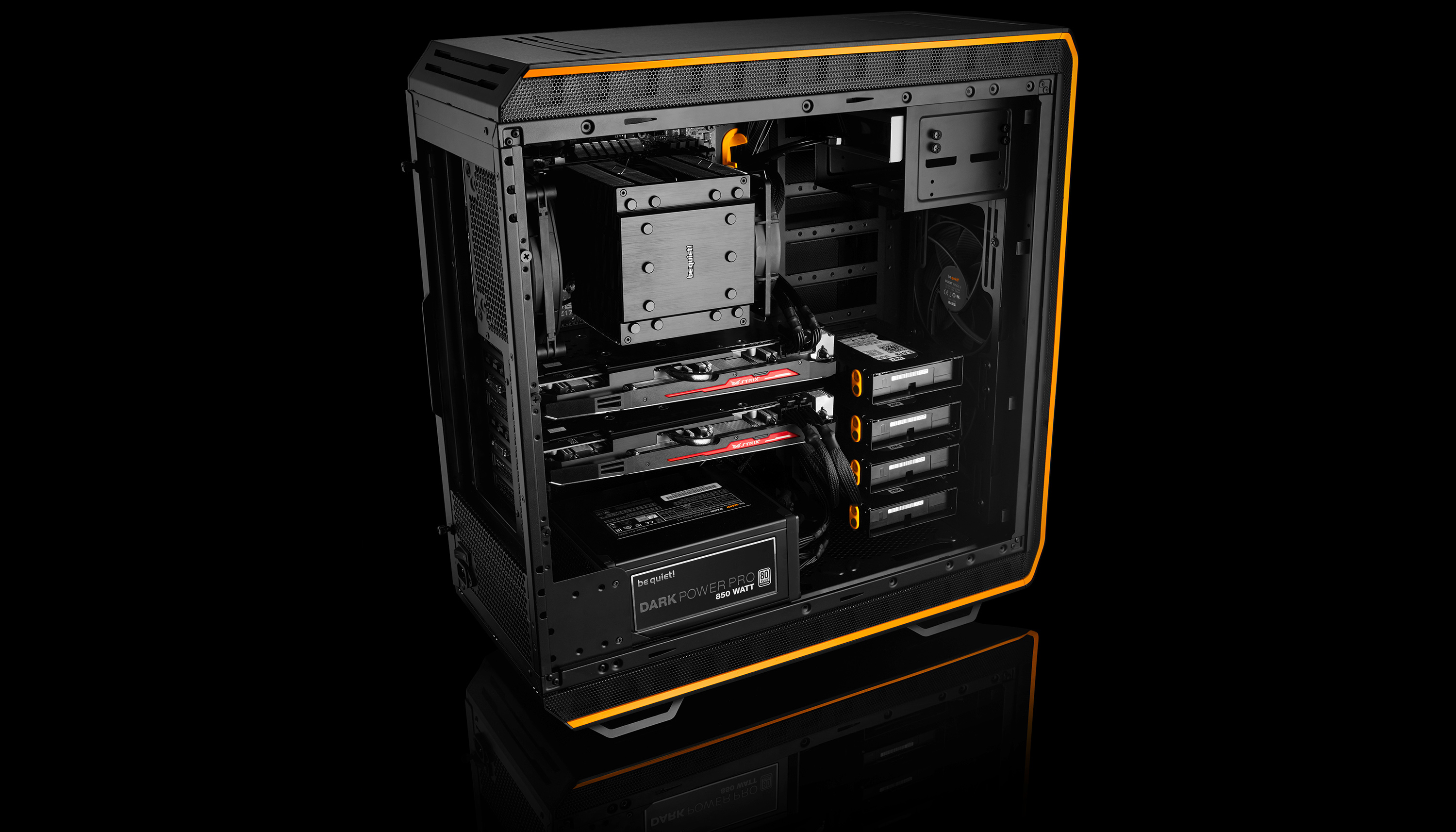 be quiet introduces new flagship dark base 900 chassis