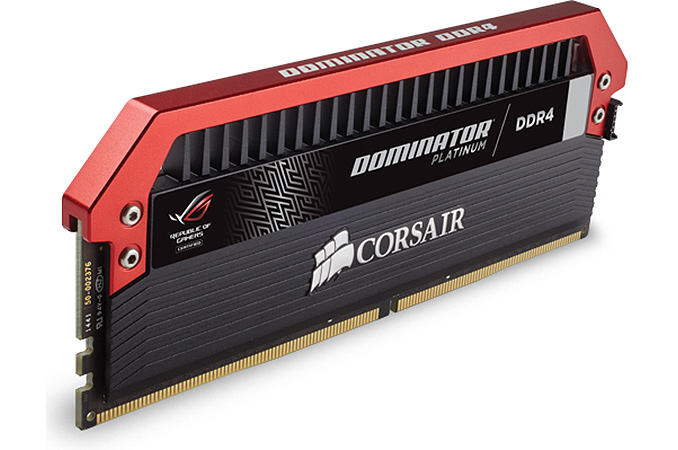 Corsair Launches Dominator Platinum Memory Modules For