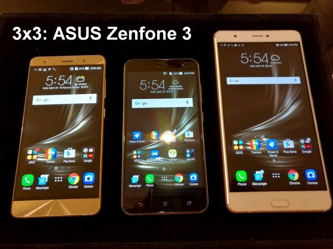 ASUS Announces The ZenFone 3 Series With 6 GB Deluxe