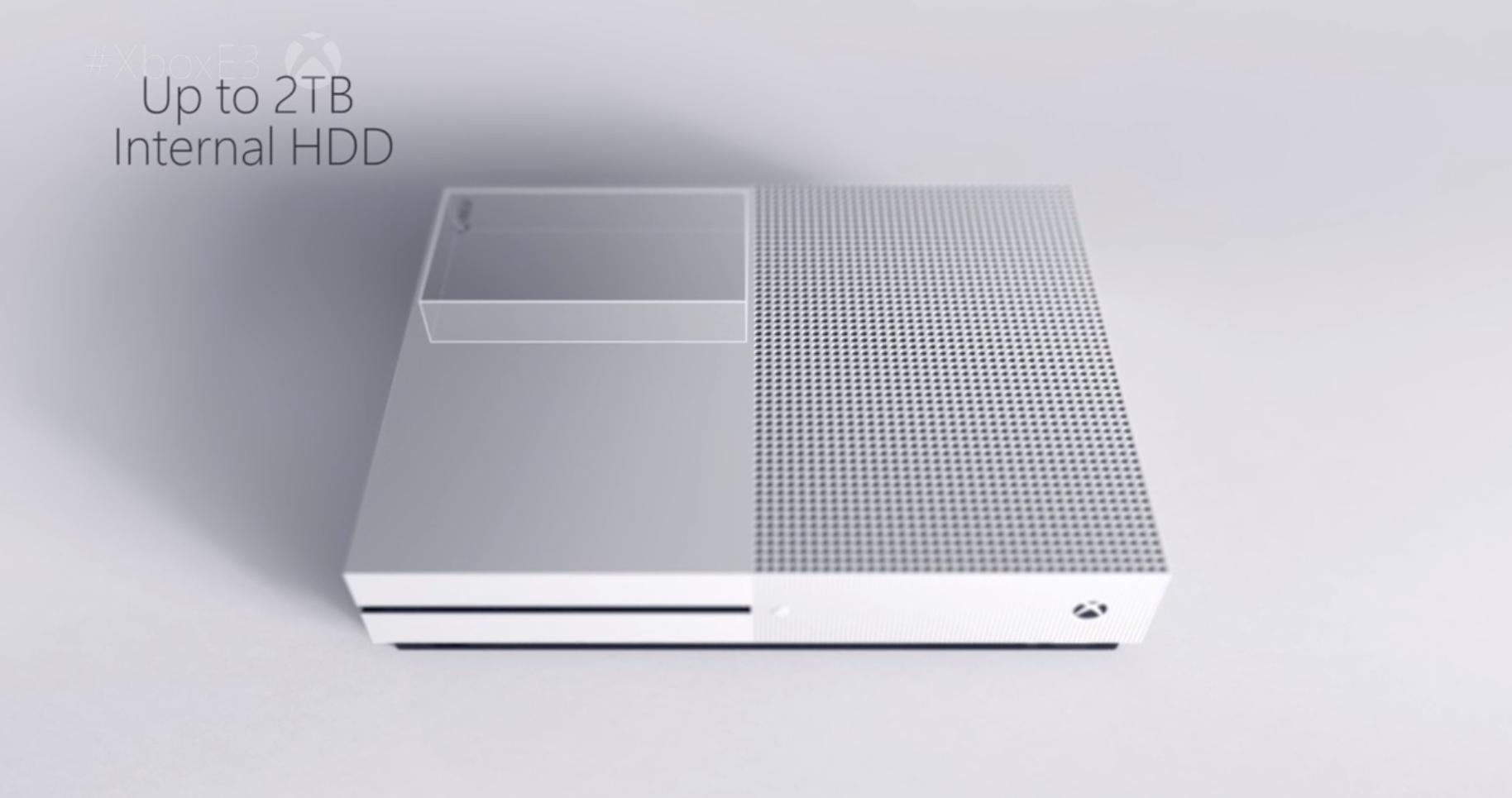 Microsoft Announces Xbox One S Console A Slimmer Design