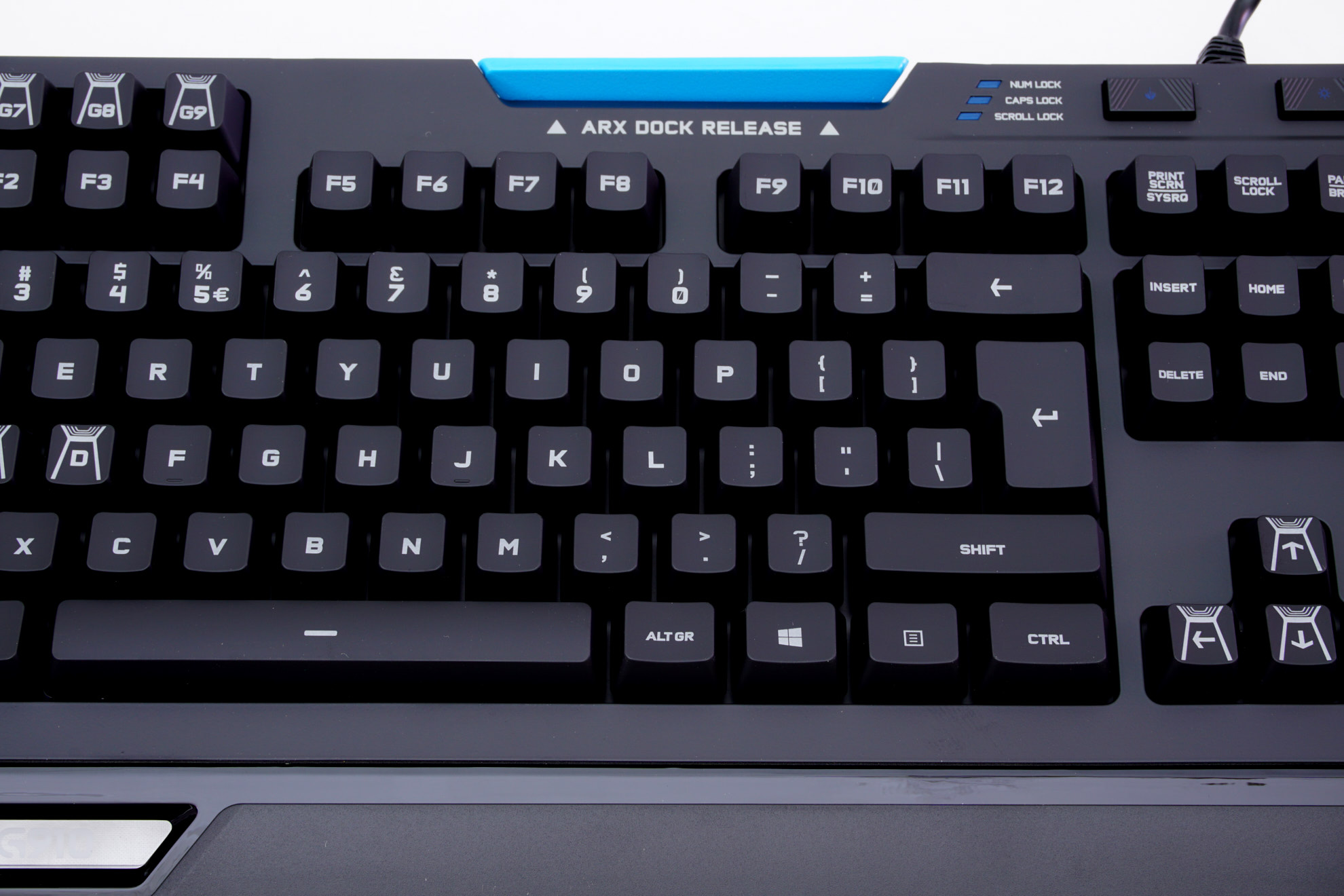The Logitech G910 Orion Spectrum Mechanical Gaming Keyboard