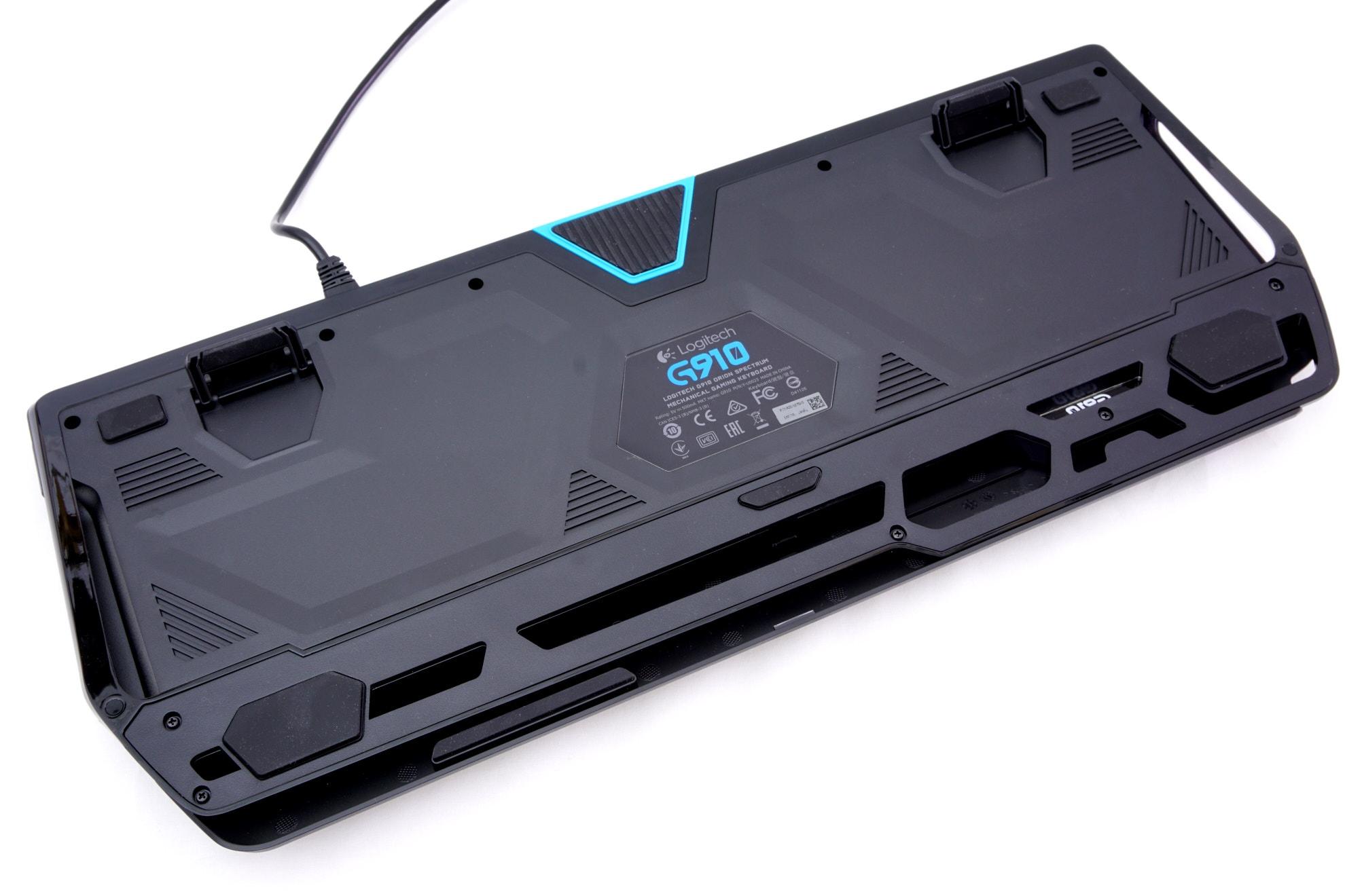 The Logitech G910 Orion Spectrum Mechanical Gaming Keyboard