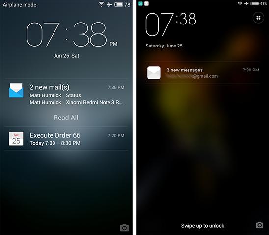 Software: Flyme & MIUI - The Meizu M3 Note vs  Xiaomi Redmi