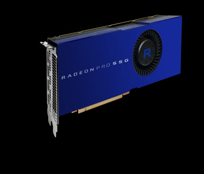AMD Announces Radeon Pro SSG: Polaris With M.2 SSDs On-Board