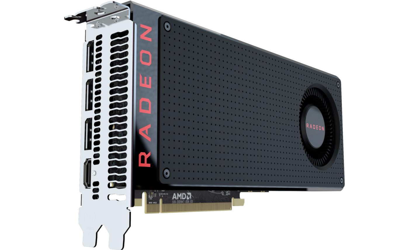 AMD Announces Radeon RX 470 & RX 460 Specifications