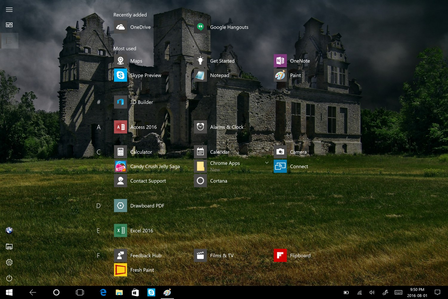 Tablet Mode changes, Windows Everywhere, and Skype - Windows