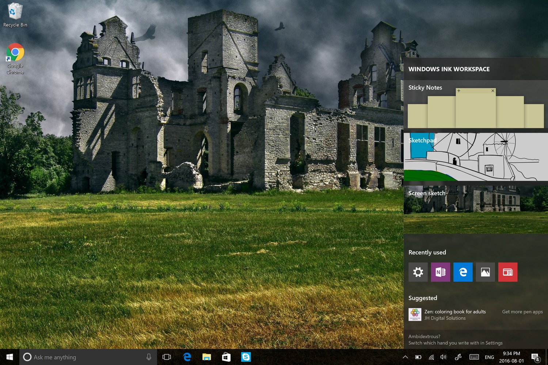 Hey Cortana, Remind Me to Explain Windows Ink - Windows 10