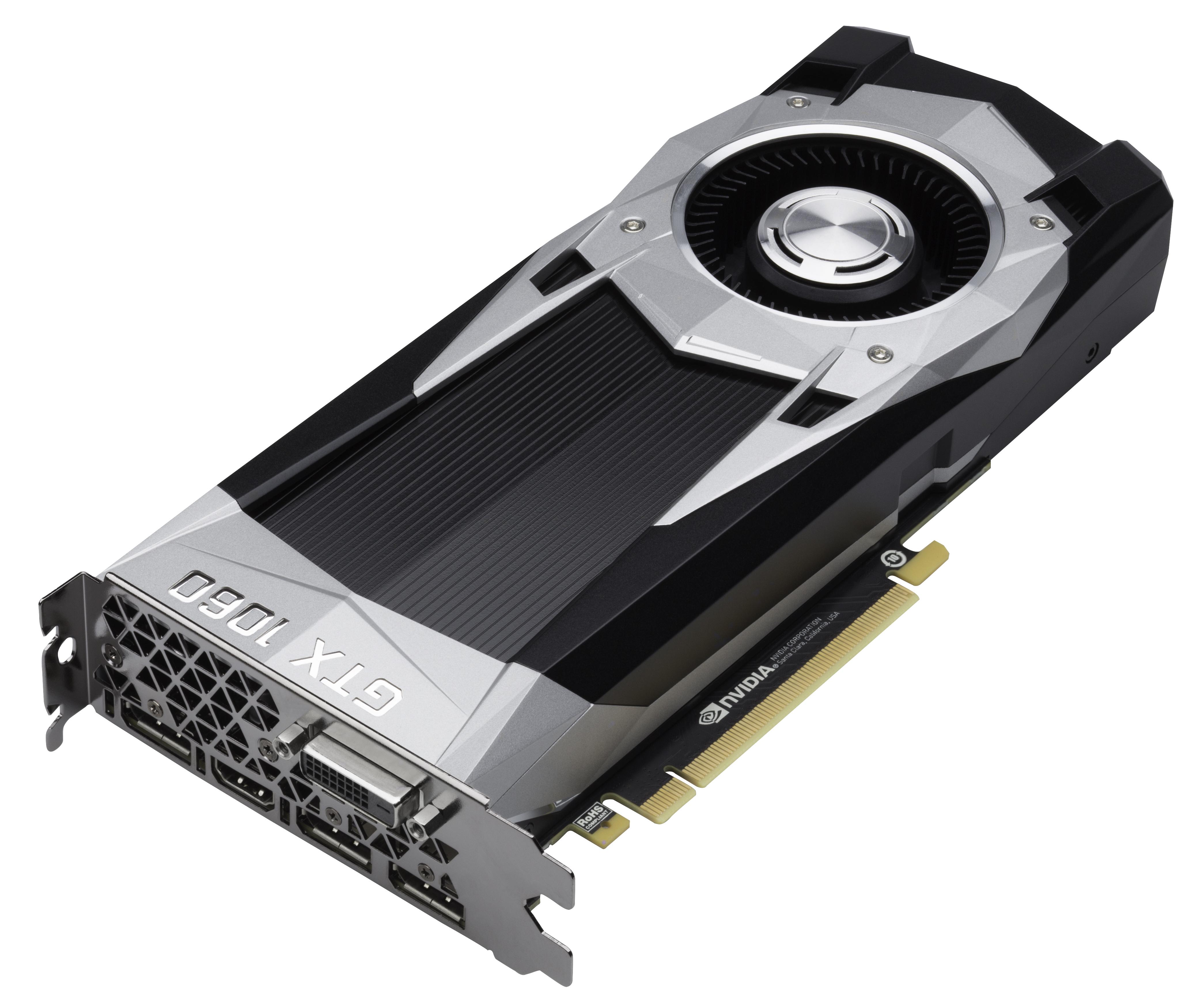 The GeForce GTX 1060 Founders Edition & ASUS Strix GTX 1060