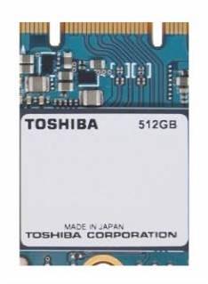 Toshiba Announces New BGA SSDs Using 3D TLC NAND