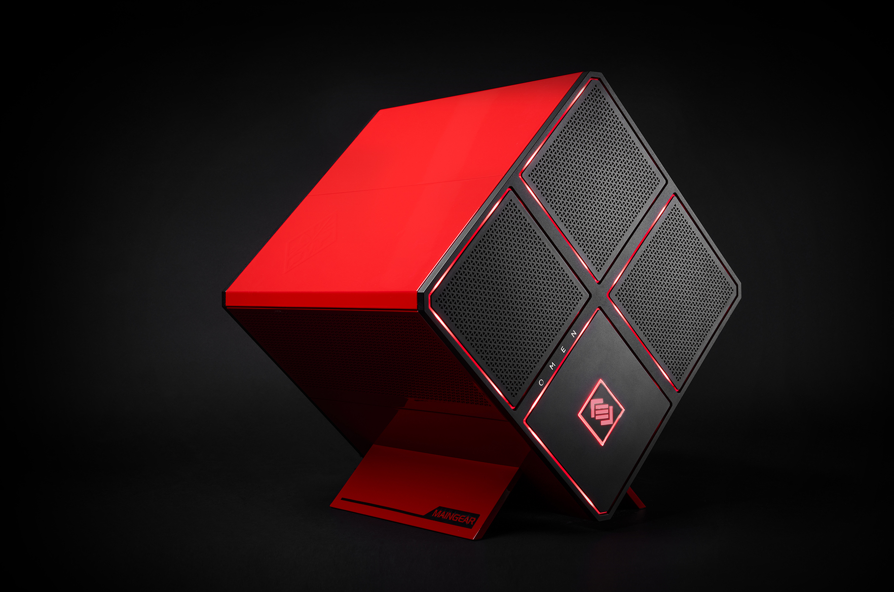 Hp and maingear team up for omen x high end gaming pc - Omen wallpaper ...