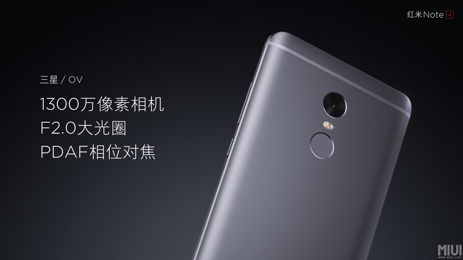 Xiaomi Launches Redmi Note 4 in China