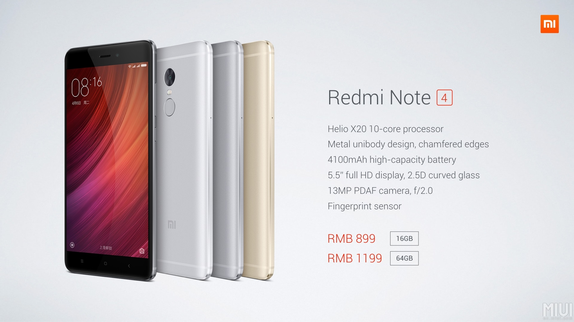 Xiaomi Launches Redmi Note 4 In China 3 Pro 32 Gb Gold