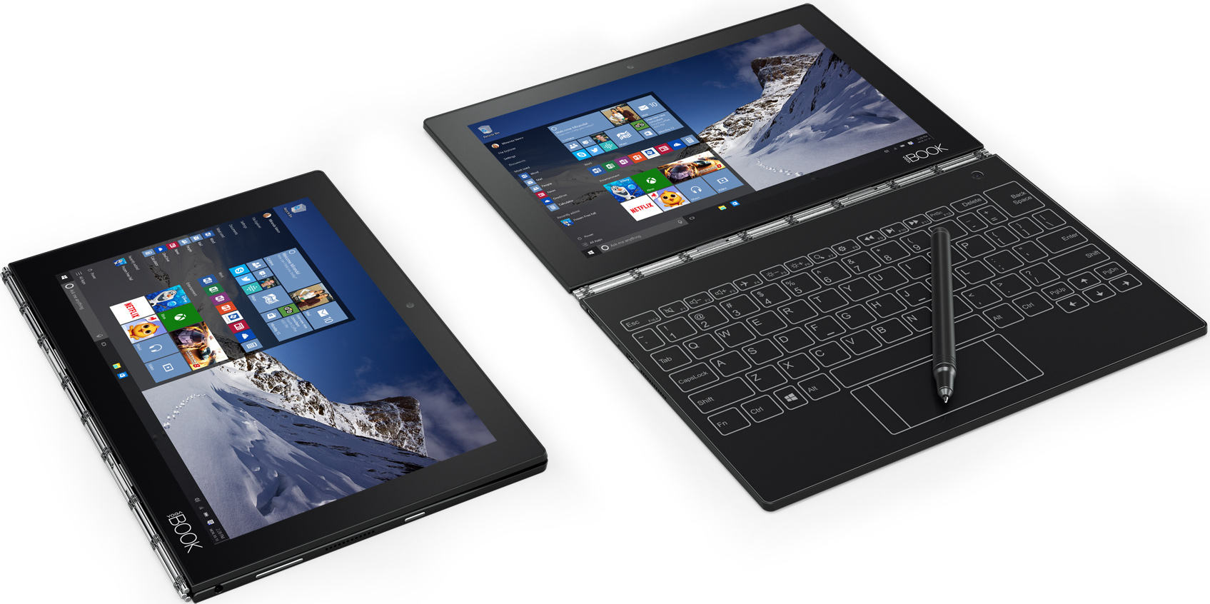 Lenovo's Yoga Book Convertible Scraps Physical Keyboard in