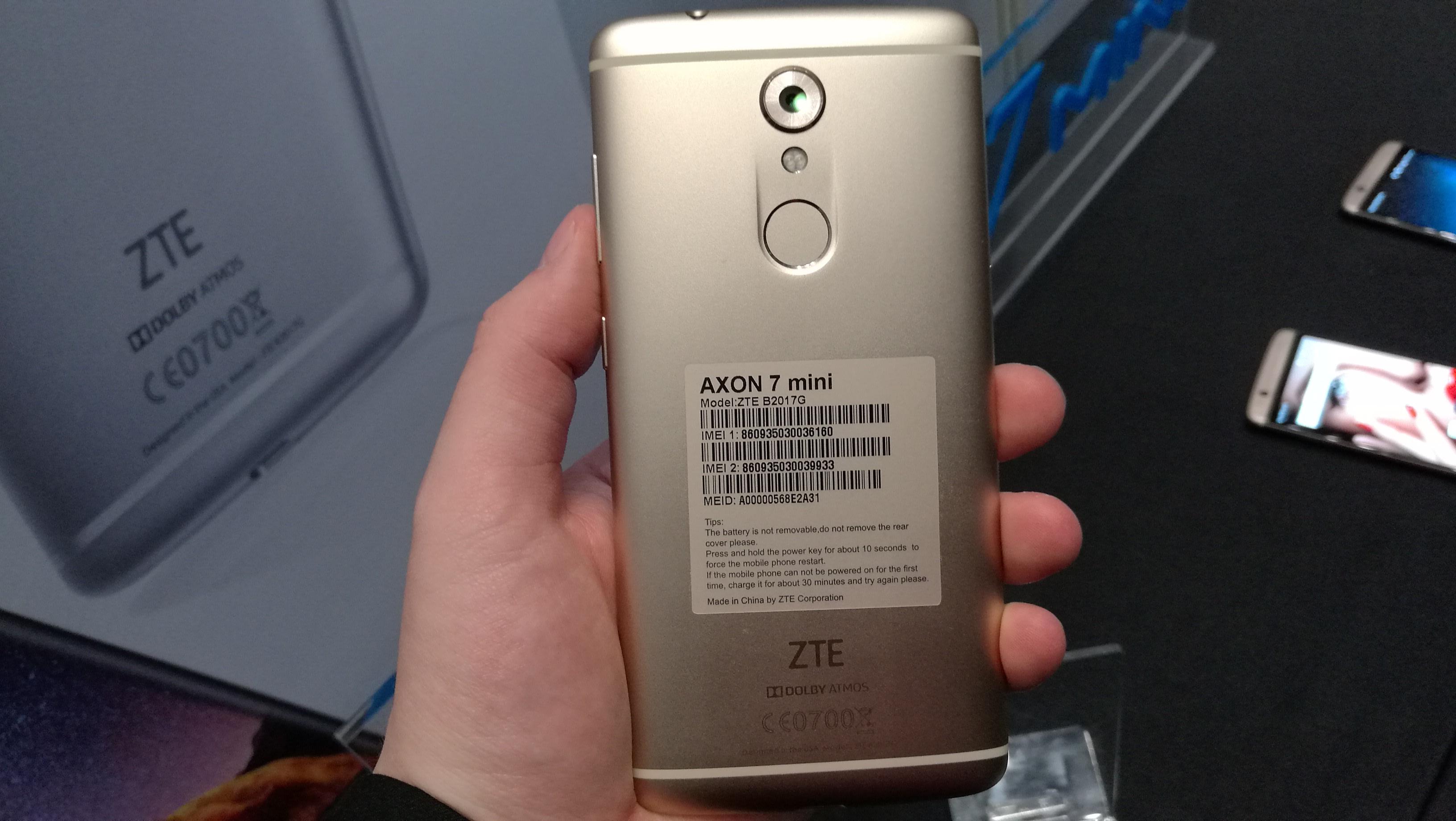 IFA 2016: ZTE Launches the AXON 7 mini