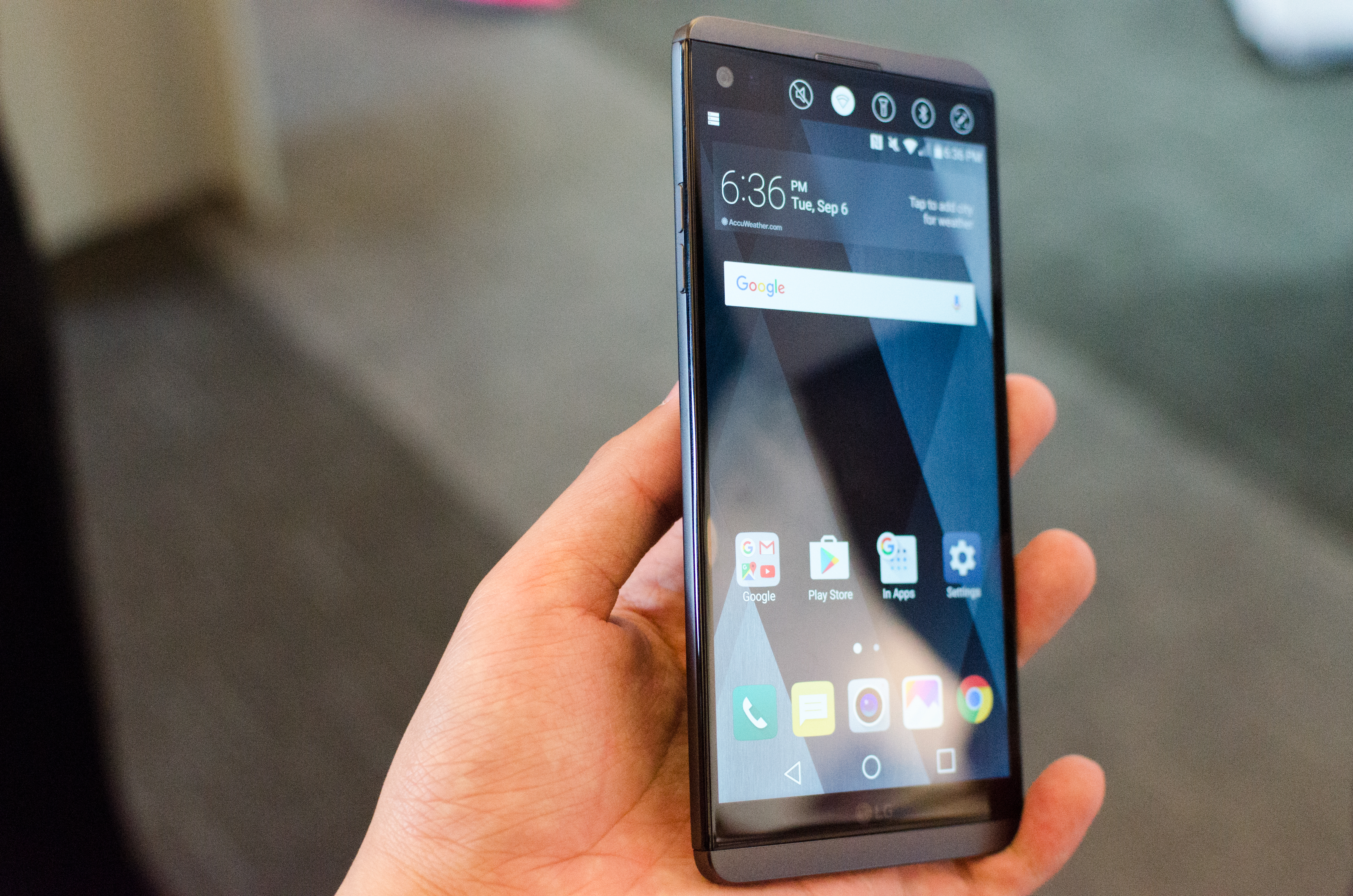 Hands On With the LG V20