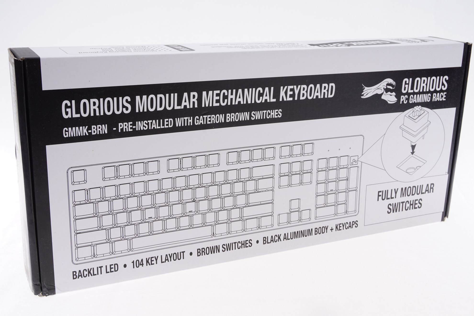 The Glorious PC Gaming Race GMMK-BRN Modular Mechanical Keyboard Review