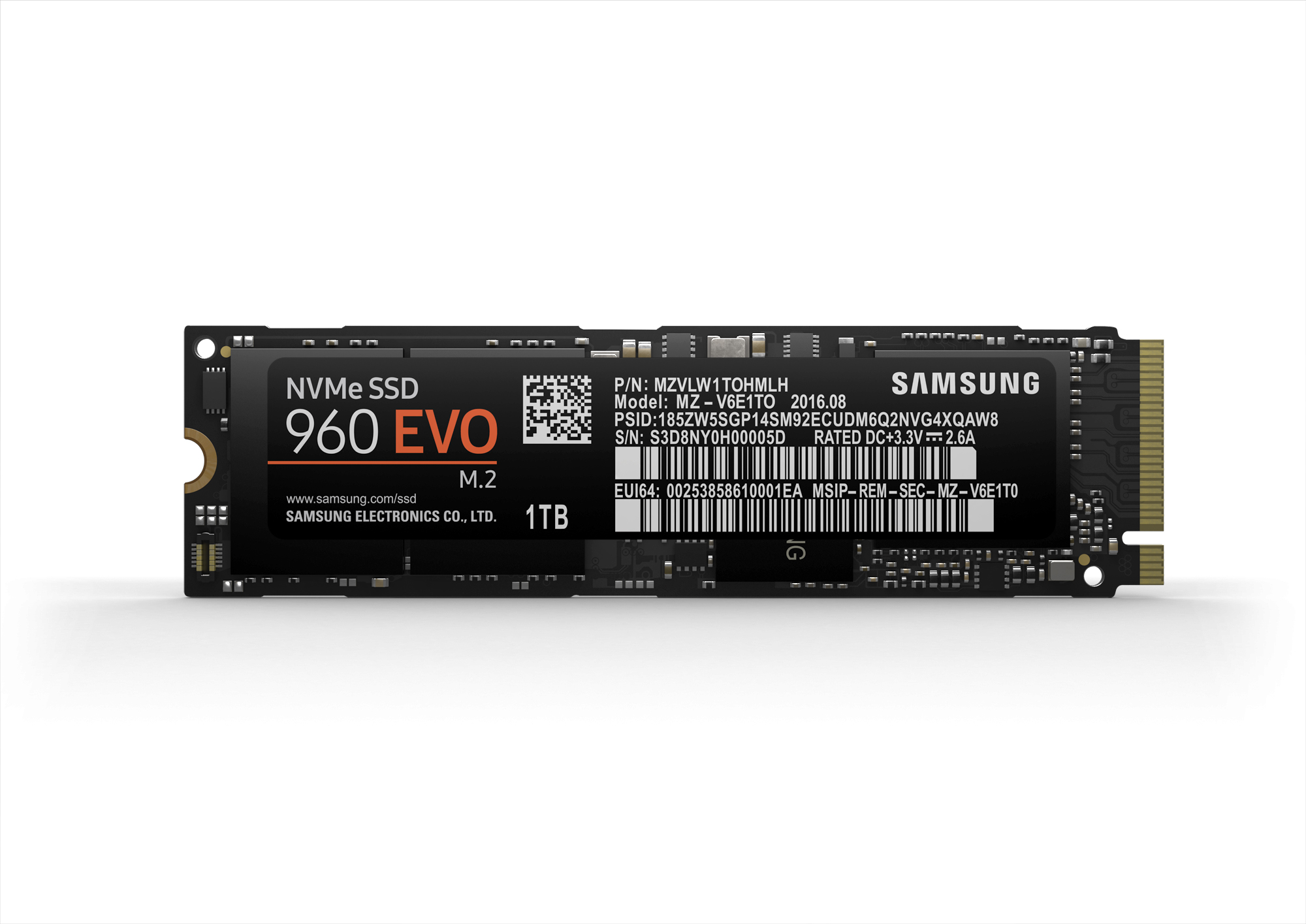 Samsung Announces 960 PRO And 960 EVO M 2 PCIe SSDs (Updated)