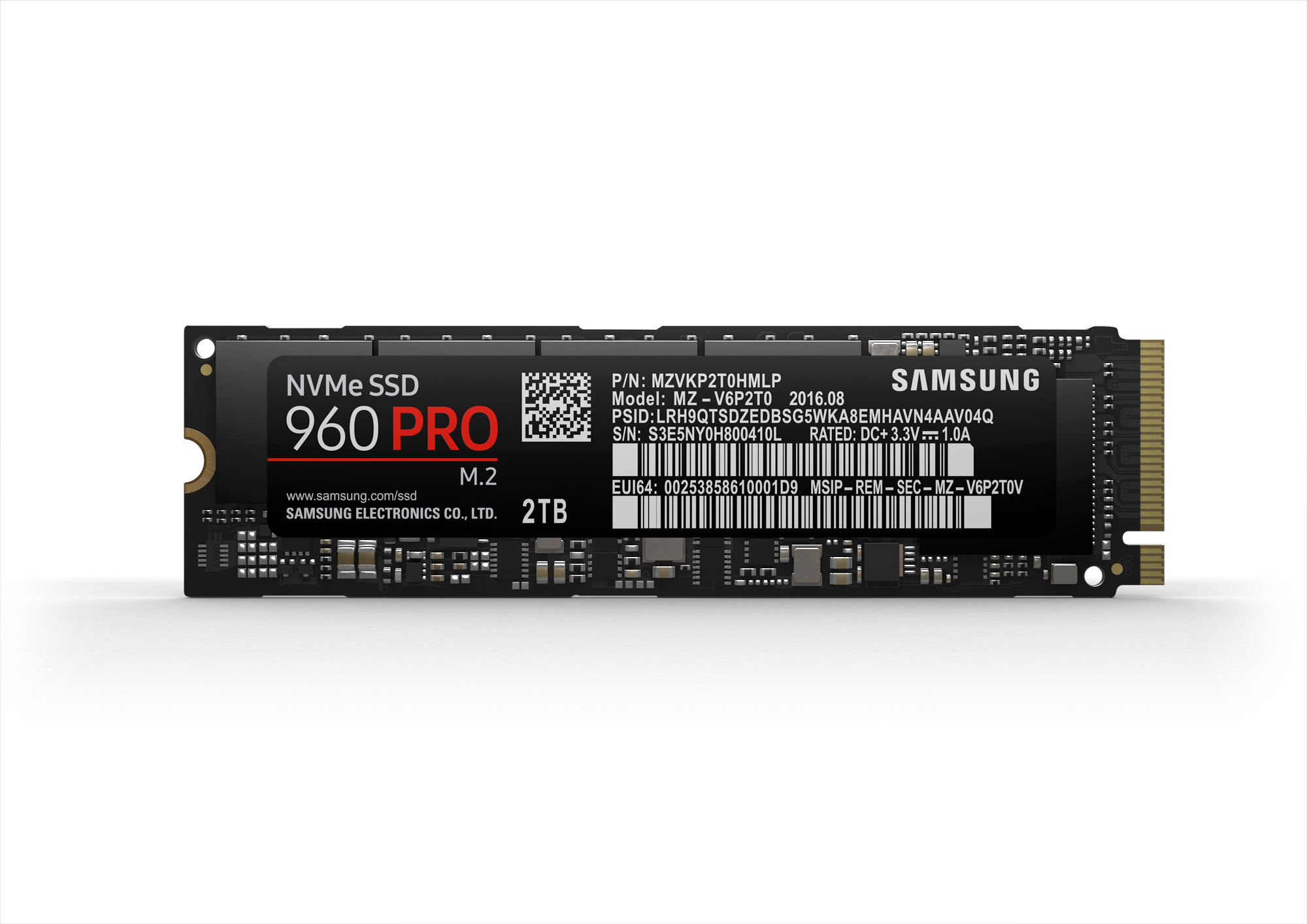 The 960 PRO is clearly more than