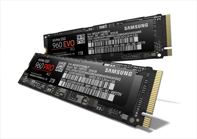Samsung Announces 960 Pro And 960 Evo M 2 Pcie Ssds Updated