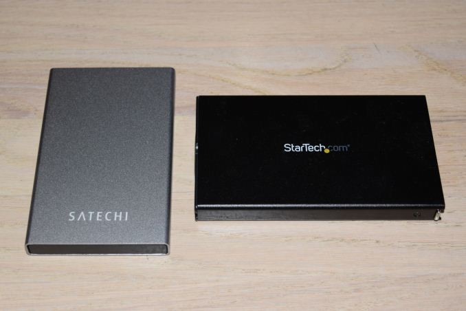 Satechi and StarTech USB 3 1 Gen 2 Type-C HDD/SSD Enclosures