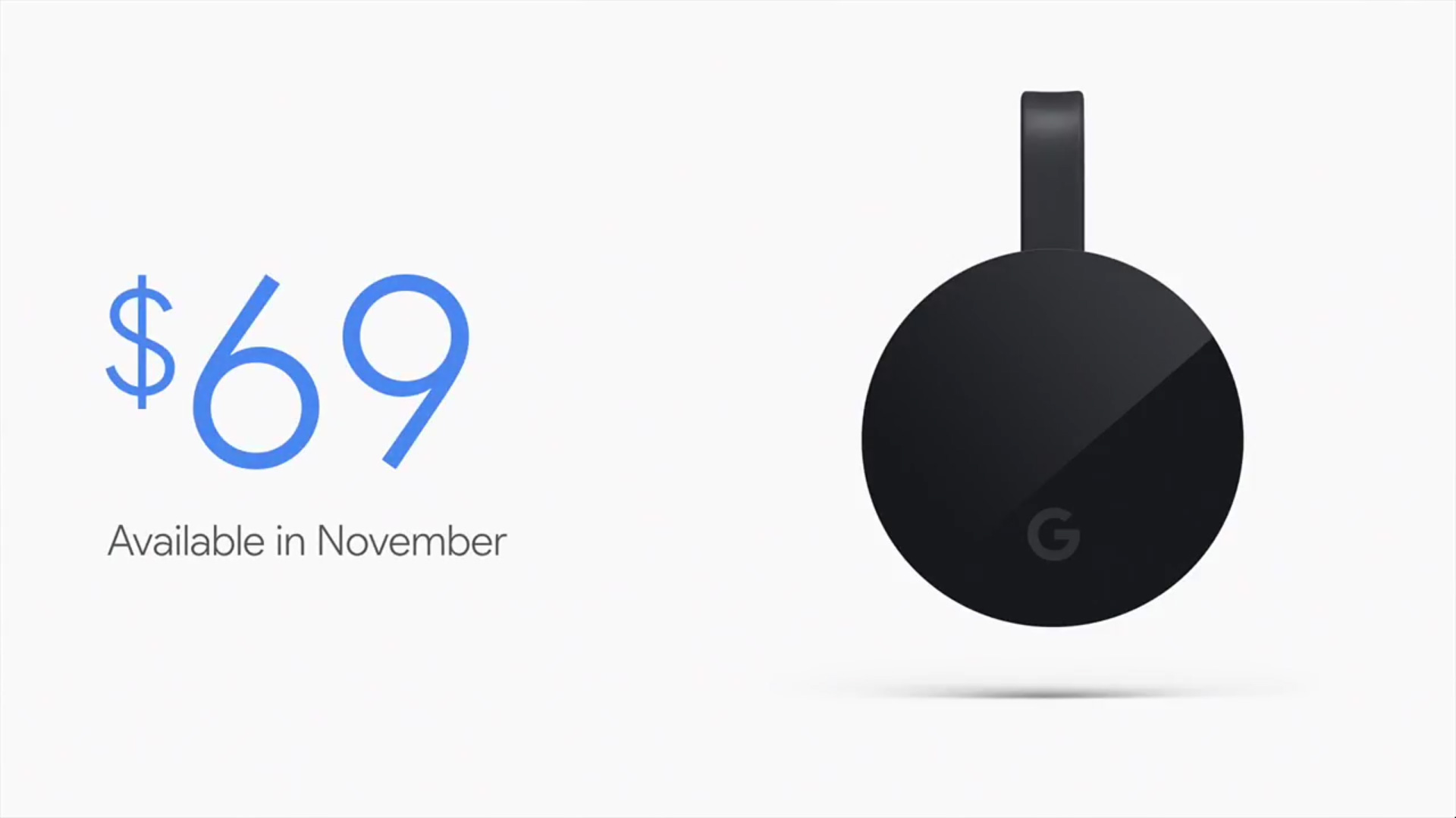 Google Announces Chromecast Ultra: 4K & HDR for Chromecast