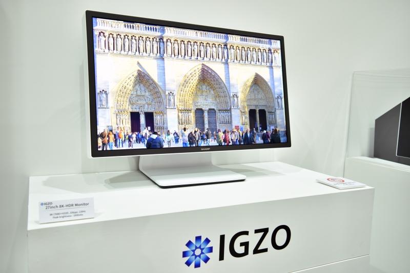 CEATEC 2016: Sharp Showcases 27-inch 8K 120Hz IGZO Monitor