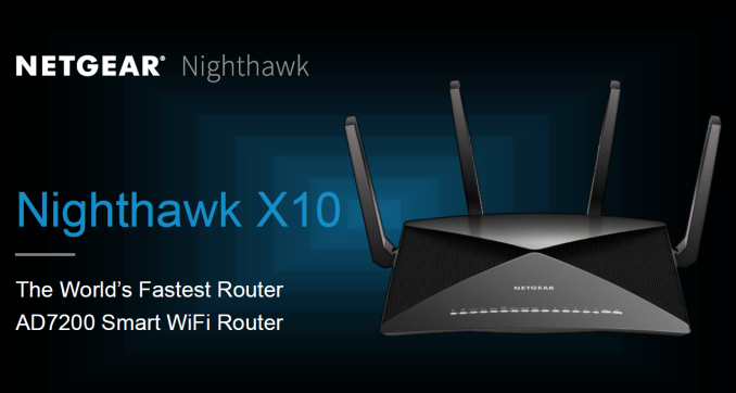 Netgear's blazing fast Nighthawk X10 router includes a 10Gb port for fiber