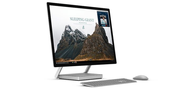 Microsoft Announces The Surface Studio 28 Inch Aio With