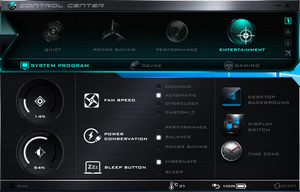 clevo drivers update utility