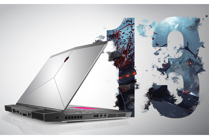 Alienware 13 R3: Quad-Core CPU, GeForce GTX 1060, QHD OLED, VR Ready