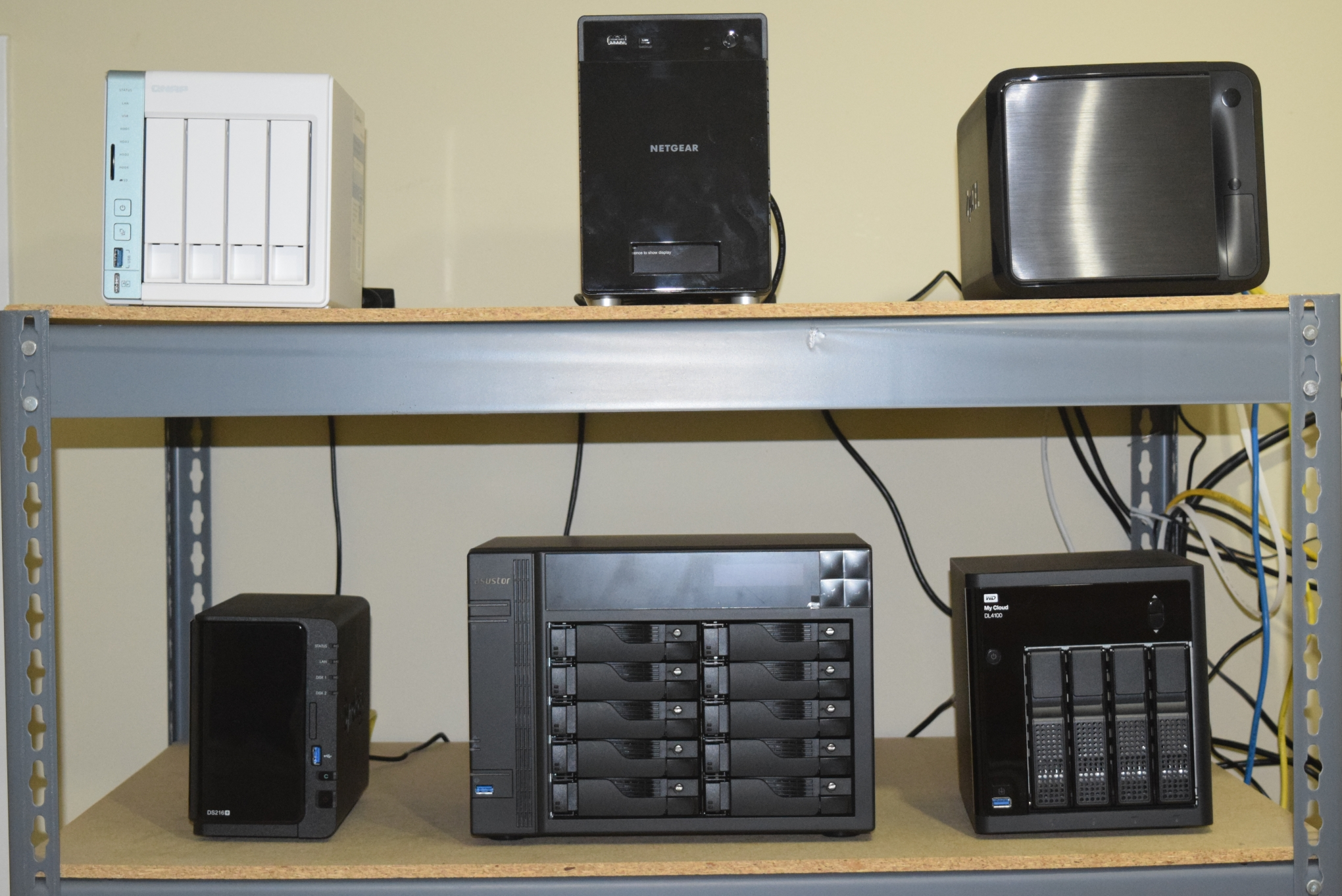 Setting the Stage    - Commercial NAS Operating Systems - A