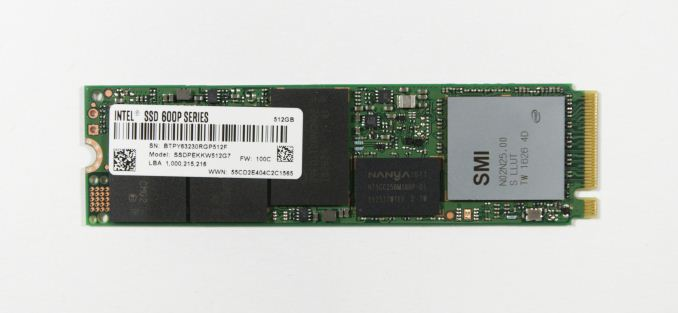 SSD Intel 600p 256GB M2 2280 PCIe NVMe _01