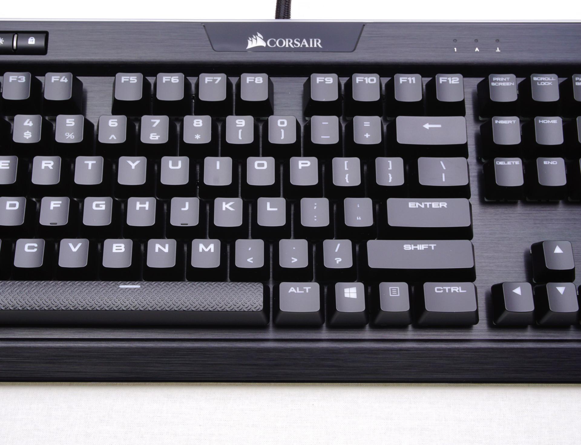 The Corsair K95 RGB Platinum Mechanical Gaming Keyboard - The