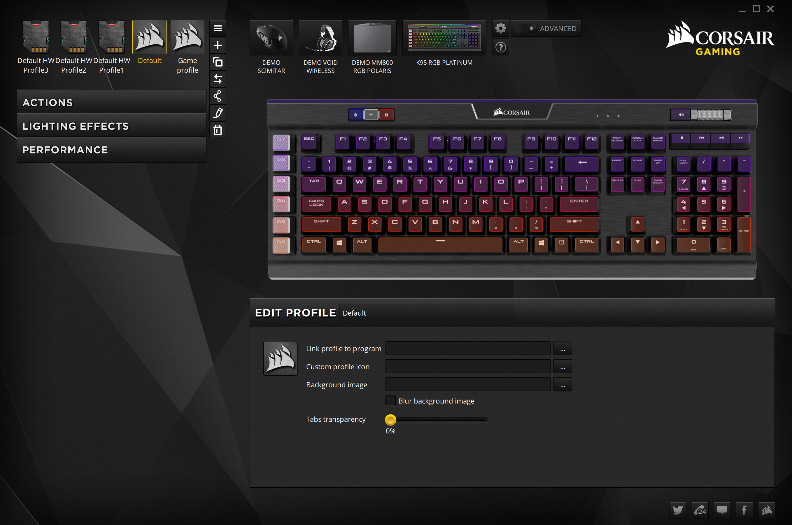 The (New) Corsair Utility Engine Software - The Corsair Gaming K95