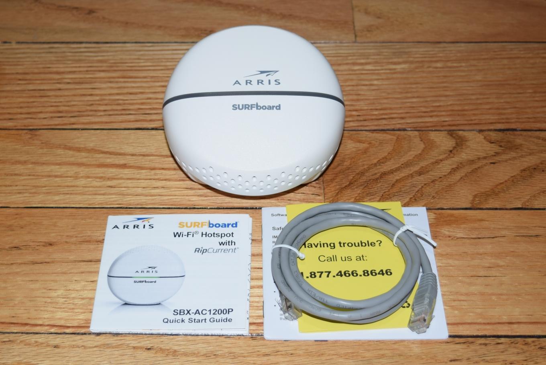 Extending Wi-Fi Reach: ARRIS SBX-AC1200P (G hn) vs  Netgear Orbi